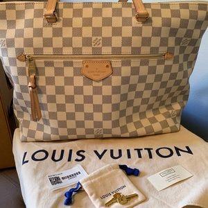 Louis Vuitton Iena MM Damier Azur Canvas
